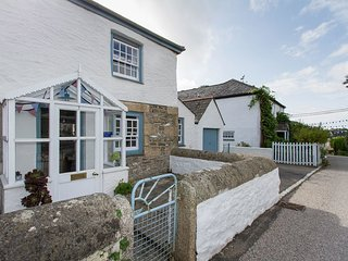2 TRERISE COTTAGE, smart, semi detached cottage in quiet Cornish Village, close