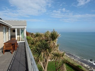 BEACH BELLE, large, detached, modern seaside home with uninterrupted panoramic
