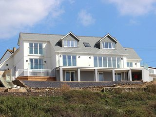 SEAGULLS PERCH, custom-built, split-level house with superb beach/sea views. In
