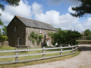 TREWETHERN BARN, handsome detached converted barn, close to Port Isaac. In St Ke