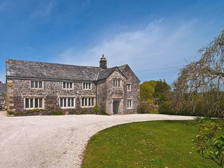 TRETAWN FARMHOUSE, detached, Grade II* listed, 16th/17th cent. manor house with
