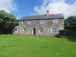 TREMORLA, handsome, detached coastal house with magnificent sea views. Boscastle