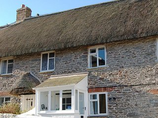 VINE COTTAGE, Grade II listed, thatched, 300-year-old cottage close to village p