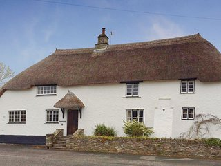 IVY COTTAGE, pretty, thatched Grade II listed cottage, close to good pub and san