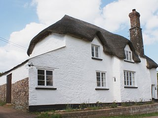 WEST HENSTILL HOUSE, 16th cent. thatched house with wood burning stove, surround