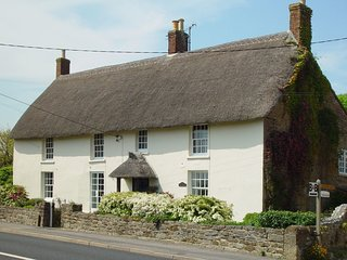 PARK FARMHOUSE, beautiful thatched house with indoor swimming pool, games room
