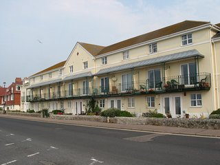6 LYME MEWS, seafront house with splendid sea views. In Seaton.