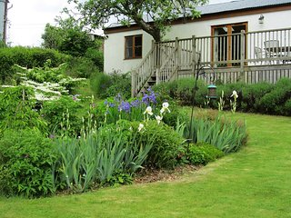 1 SHIPPEN COTTAGES, pretty cottage in hedgerow lanes with 10 acres of heath, woo