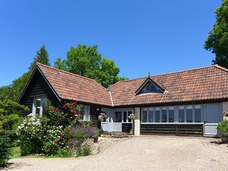 LITTLE EVANSES, detached cottage on a smallholding with excellent countryside