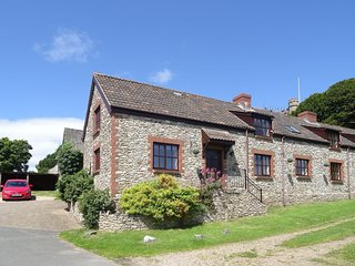 CHURCH APPROACH, neat, semi detached cottage in Farway, with games barn close to