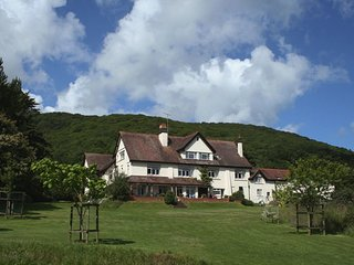 PORLOCK VALE HOUSE, stunning Exmoor country house with fifteen en suite bedrooms
