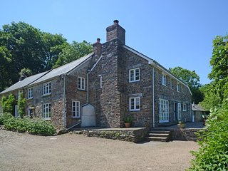 LOWER COWLEY FARMHOUSE, fabulous detached Exmoor house with indoor swimming pool