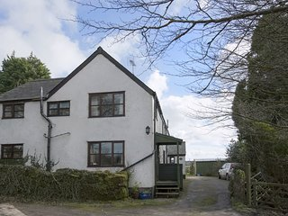 THE ANNEXE, HIGHER LYDGATE FARMHOUSE, peaceful Dartmoor cottage with wood