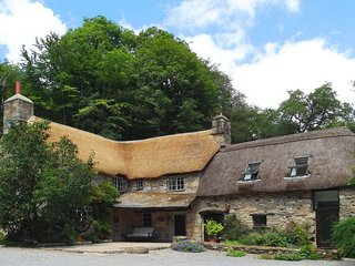 BAGTOR MILL, fabulous, thatched Grade II listed mill house. Big grounds with woo