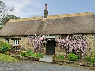 THE GARDEN COTTAGE, historic Devon cottage on the edge of pretty village. In Bel