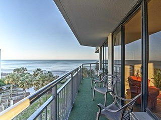 Myrtle Beach Condo w/Ocean Views & Pool Access!