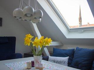 Stadtflucht Lüneburg - charmante Ferienwohnung im Vorderhaus OG/DG