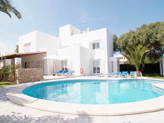 4 bedroom Villa in Cala Egos, Balearic Islands, Spain : ref 5585580