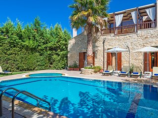 4 bedroom Villa in Asteri, Crete, Greece : ref 5238092