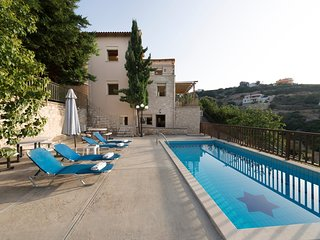 5 bedroom Villa in Dilofo, Crete, Greece : ref 5585554