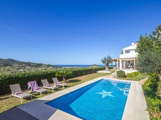 5 bedroom Villa in San Agustin des Vedra, Balearic Islands, Spain : ref 5585586
