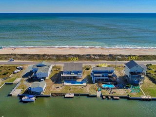 New River Inlet Rd 1601 Oceanview! | Private Pool, Hot Tub, Pet Friendly, Intern
