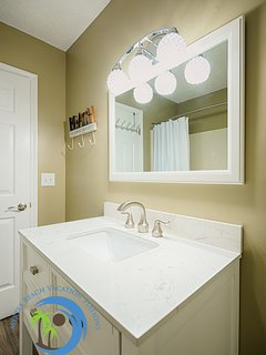 Bathroom Vanity and Sink