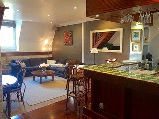 2019 : 2 bedroom 2 bathroom split level DIJON down town apartment