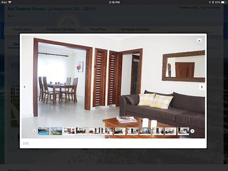 Luxurious condominium in Punta Cana (4 minute walk to the beach