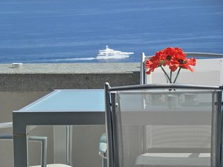 Cap d'Ail Apartment,infinity pool, private balcony and fabulous sea views