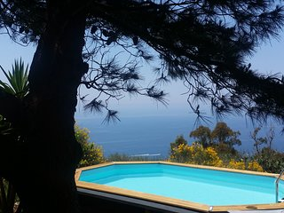 romantic getaway lipari island pool sea view