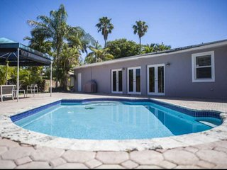 Contemporary Family Home with Pool, Huge, Fenced Yard & Minutes from Best Attrac