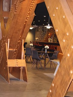 Spectra building Community Room and Bar
