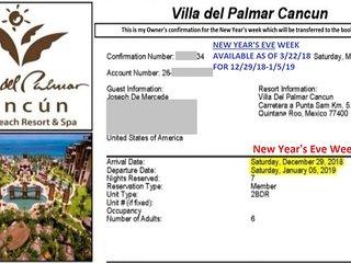 New Year's Eve * 5 star, tropical & lavish lifestyle at Villa del Palmar Cancun