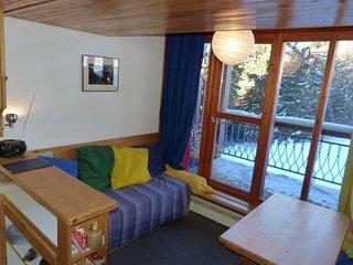 Appartement 2 pieces 5 personnes a Arc 1800 dans le quartier de charmettoger au