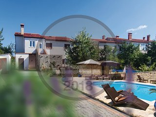 4 bedroom Apartment in Vinez, Istria, Croatia : ref 5575288