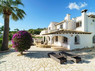 3 bedroom Villa in Moraira, Valencia, Spain : ref 5569747