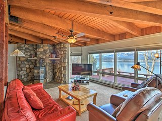 NEW! Lakefront Sagle Home w/Dock Near Schweitzer!
