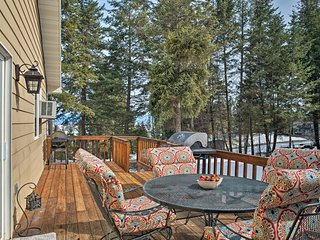 NEW! Quiet Kalispell House on 3 Wooded Acres!
