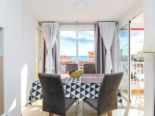 First Line Beach 2BR Modern Apartment in Benalmadena