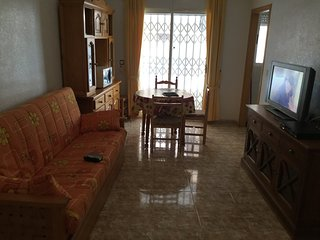 Central torrevieja  1st floor two bed apartment sleeps seven