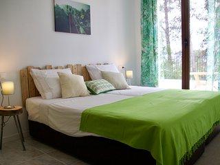 Finca Sonada- kamer La Selva. Jouw Bed and Breakfast gelegen in een groene oase