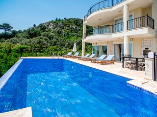 Luxurious Spacious 4 Bedroom Villa with Large Secluded Pool, Games Room & Views