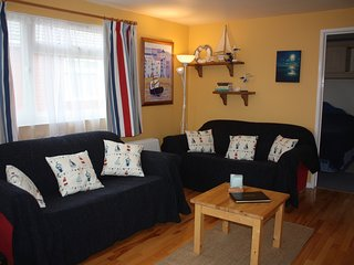Cosy nautically themed lounge area -recently refurbished