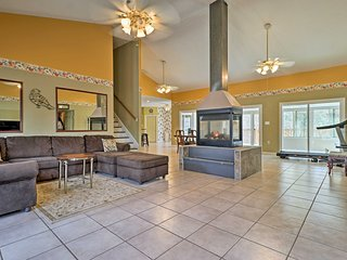 NEW! Spacious Fairburn House w/ Outdoor Fire Pit!