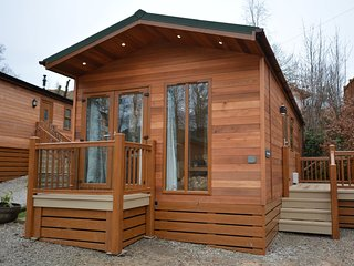50081 Log Cabin situated in Coniston Water