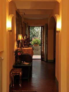 Hallway inside apartment