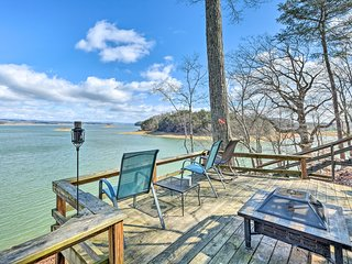 NEW-'Piccolo Nido' Cottage w/Dock on Cherokee Lake