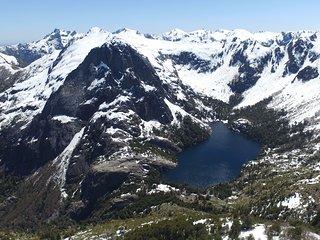 Refuigio de montaña la pepa, alto bio bio
