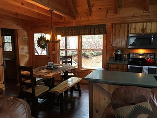 Quiet, Cozy, Pet Friendly Cabin with Magnificent Mountain Views.